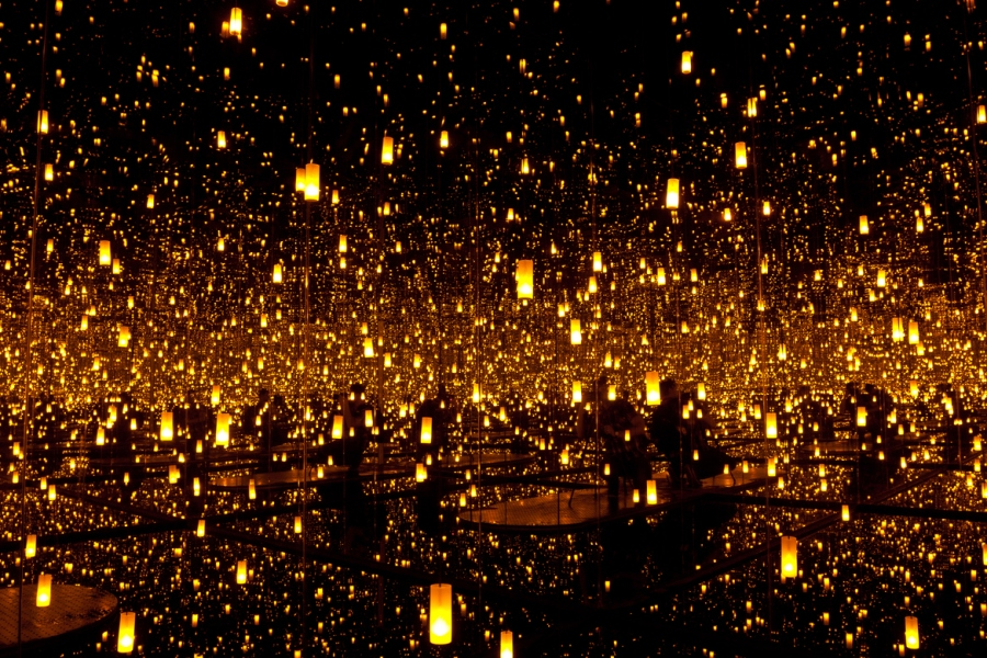 Fireflies on the Water
